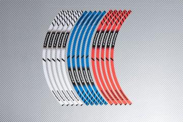 Strisce nastro adesivo racing per cerchio ruota SUZUKI - Modello VSTROM