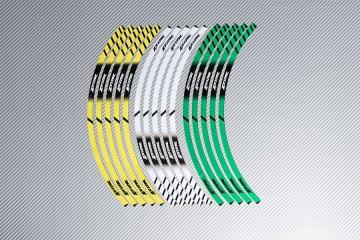Stickers de llantas Racing KAWASAKI - Modelo ZX12R