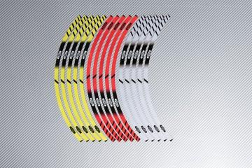 Stickers de llantas Racing YAMAHA - Modelo XSR
