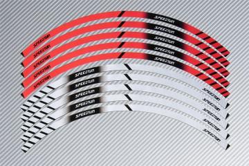 Stickers de llantas Racing TRIUMPH - Modelo Speed Twin