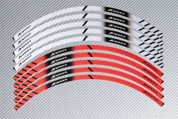 Stickers de llantas Racing SUZUKI - Modelo KATANA