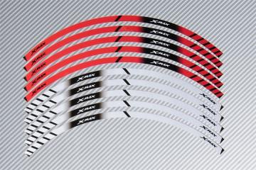 Strisce nastro adesivo racing per cerchio ruota YAMAHA - Modello XMAX