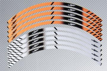 Strisce nastro adesivo racing per cerchio ruota KTM - Modello SUPERDUKE