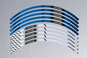 Strisce nastro adesivo racing per cerchio ruota BMW - Modello C650GT