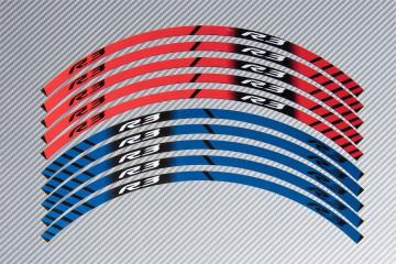 Stickers de llantas Racing YAMAHA - Modelo R3