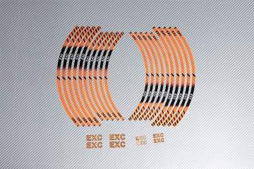 Racing Wheel Rim Tape KTM - Model EXC