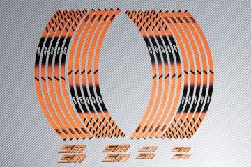 Stickers de llantas Racing KTM - Modelo SM