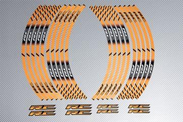 Strisce nastro adesivo racing per cerchio ruota KTM - Modello RC