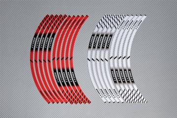 Stickers de llantas Racing DUCATI - Modelo 1198