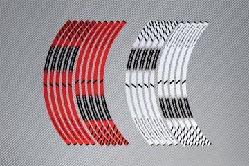 Strisce nastro adesivo racing per cerchio ruota DUCATI - Modello STREETFIGHTER