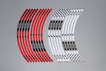 Strisce nastro adesivo racing per cerchio ruota DUCATI - Modello 848