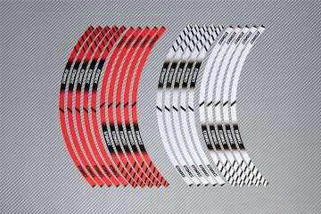 Stickers de llantas Racing DUCATI - Modelo SCRAMBLER