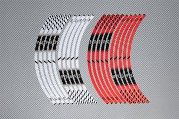 Strisce nastro adesivo racing per cerchio ruota DUCATI - Modello 749