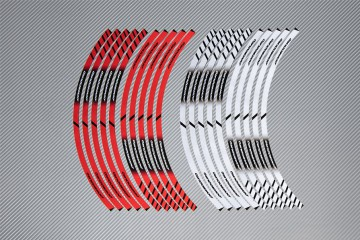 Strisce nastro adesivo racing per cerchio ruota APRILIA - Modello DORSODURO