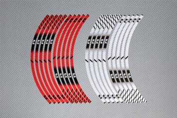 Strisce nastro adesivo racing per cerchio ruota MV AGUSTA - Modello F4