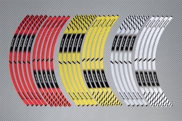 Strisce nastro adesivo racing per cerchio ruota APRILIA - Modello TUONO