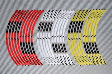 Strisce nastro adesivo racing per cerchio ruota MV AGUSTA - Modello BRUTALE