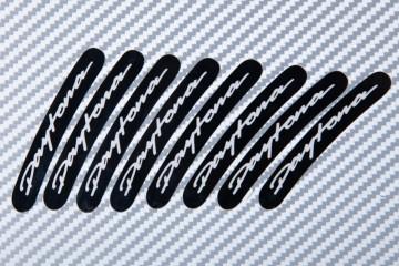 Motorrad Felgenrandaufkleber TRIUMPH - Logo Daytona