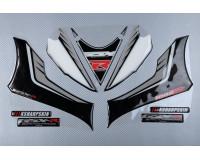 Front fairing Stickers SUZUKI GSXR 1000 2017 - 2018