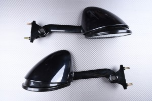 Pair of Aftermarket Rearview Mirrors KAWASAKI ZZR 1400 / ZX14R 2006 - 2011