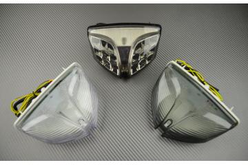 Feu Stop Led Clignotants Intégrés Suzuki GSXR 600 750 K8/L6 1000 K9/L6 et SV 650 2016-2020