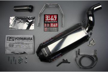 Echappement YOSHIMURA RS5 Inox / Carbone Kawasaki ZX6R 05 / 06