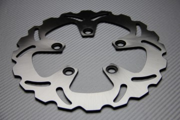 Rear solid brake disc 230 mm for many KAWASAKI