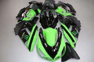 Komplette Motorradverkleidung KAWASAKI ZZR 1400 06 / 11