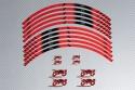 Strisce nastro adesivo per cerchio universale racing - Modello AVDB MOTO