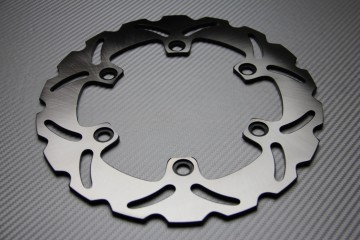Rear solid brake disc 250 mm for many KAWASAKI