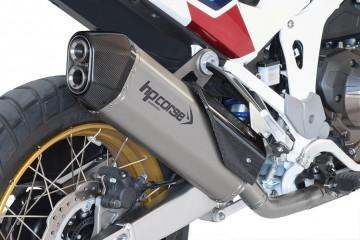 Slip-on exhaust Black HP CORSE HONDA AFRICA TWIN 1100 2020