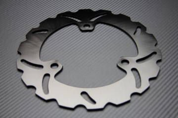 Rear solid brake disc 220 mm for many KAWASAKI
