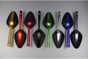 Anodized mirrors