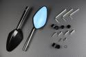 Pareja de Retrovisores de Aluminio / Plástico
