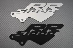 Brackets / Pair of Heel Rests BMW - S1000RR Logo