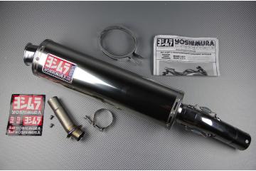 Endschalldämpfer SUZUKI SV 650 S N 2003 - 2015 YOSHIMURA RS3 EDELSTAHL