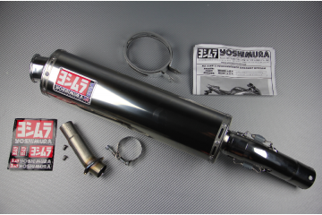 Slip-On Exhaust SUZUKI SV 650 S N 2003 - 2015 YOSHIMURA RS3 STAINLESS STEEL
