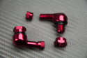 Paire de Valves coudées en aluminium anodisé 8.3 mm