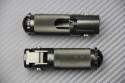 Pair of Foldable Rearsets Footpegs