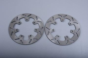 Pair of Front Solid brake discs 270 mm many KAWASAKI