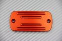 Brake and / or Clutch Fluid Reservoir Cap anodised for HONDA / KYMCO / MASH