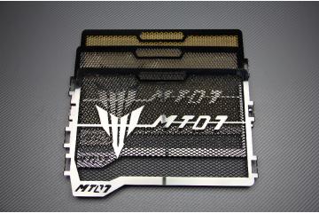 Grille de Radiateur Siglée Yamaha MT07 2014 - 2019,  MT-07 Tracer,  XSR 700
