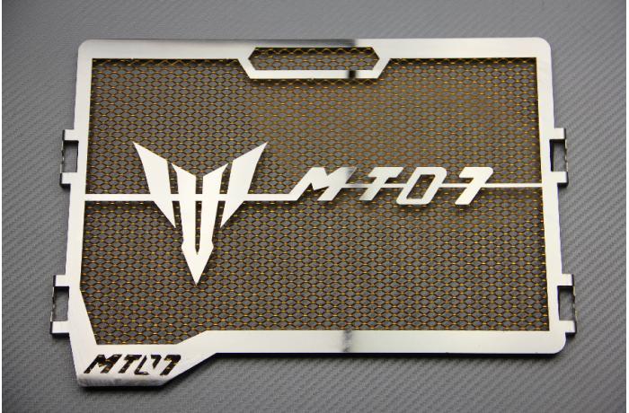 Accessoires de Radiateur de Moto MT07 Grille de Protection de Radiateur pour 2014 2015 2016 2017 Yamaha MT-07 Noir