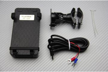 Soporte y cargador móvil / GPS universal