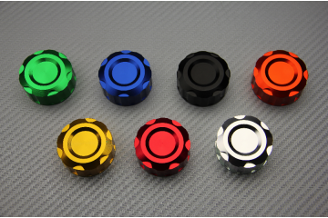 Anodised Rear Brake or Clutch Fluid Reservoir Cap for Numerous Motorcycle Models