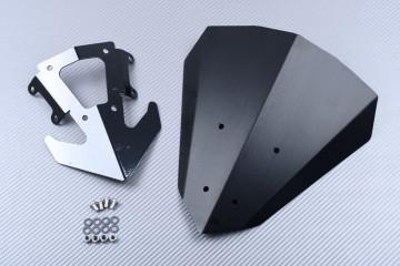 Cupolino / Parabrezza in Alluminio anodizzato KAWASAKI Z400 2019 - 2020