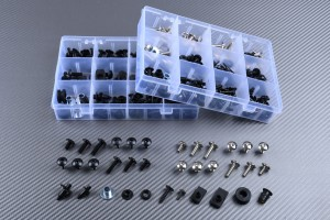 Specific hardware kit for fairings AVDB KAWASAKI NINJA 500R / S 1987 - 2009