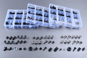 Specific hardware kit for fairings AVDB KAWASAKI ZX6R 1998 - 2002 / ZZR 600 2005 - 2008