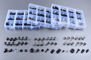 Specific hardware kit for fairings AVDB KAWASAKI ZX6R / ZX6RR 2007 - 2008