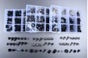 Kit de tornillos especifico para carenados AVDB KAWASAKI ZX10R 2011 - 2019